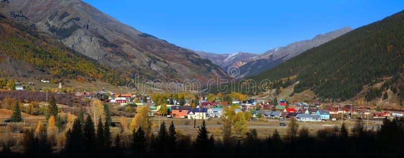 Silverton, Colorado stock afbeelding