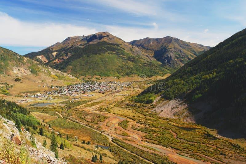 Silverton, Colorado imagen de archivo libre de regalías
