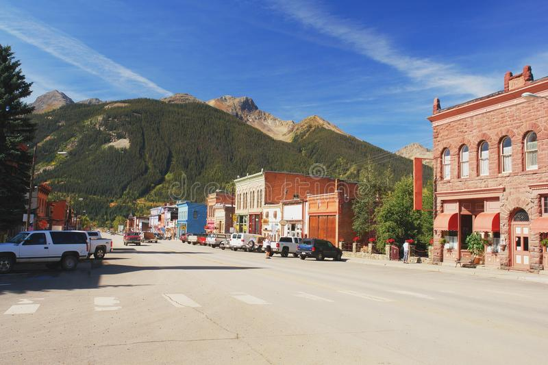 Silverton, Colorado stock photography
