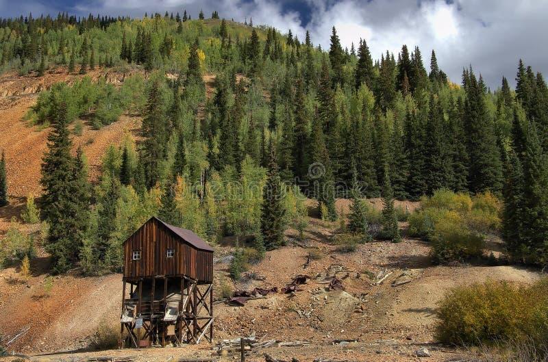 Silverton le Colorado dans le comté de San Juan image stock