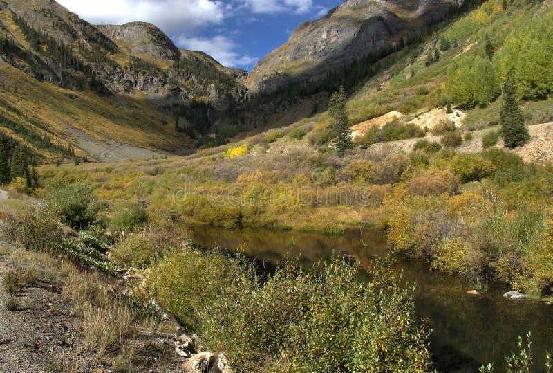 Silverton le Colorado dans le comté de San Juan photographie stock libre de droits