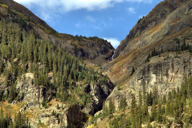 Silverton le Colorado dans le comté de San Juan image libre de droits