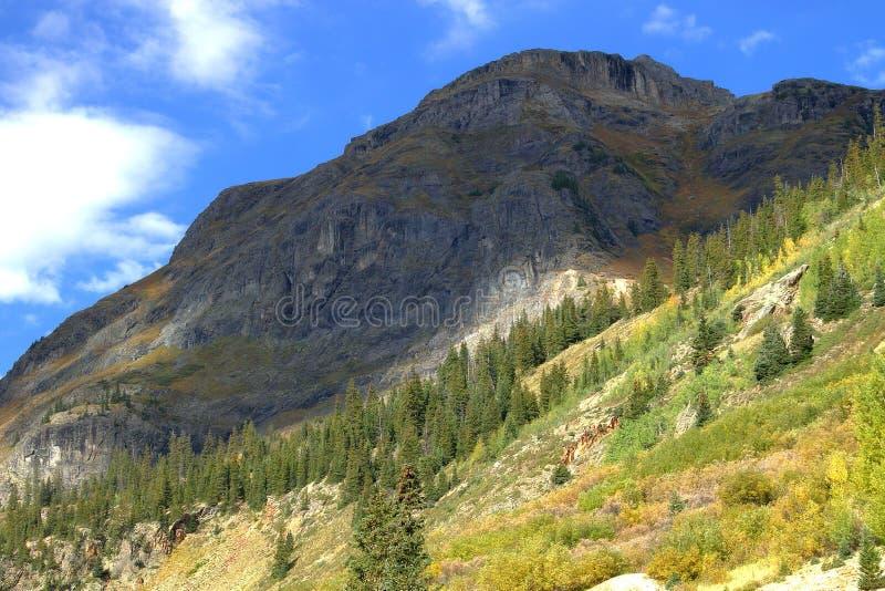 Silverton le Colorado dans le comté de San Juan photo stock