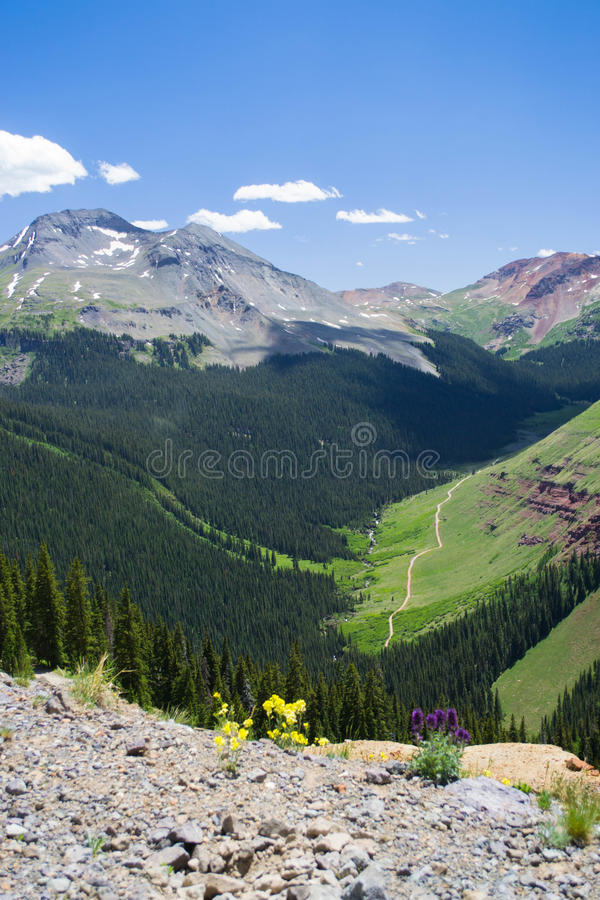 Silverton Mountains stock photo