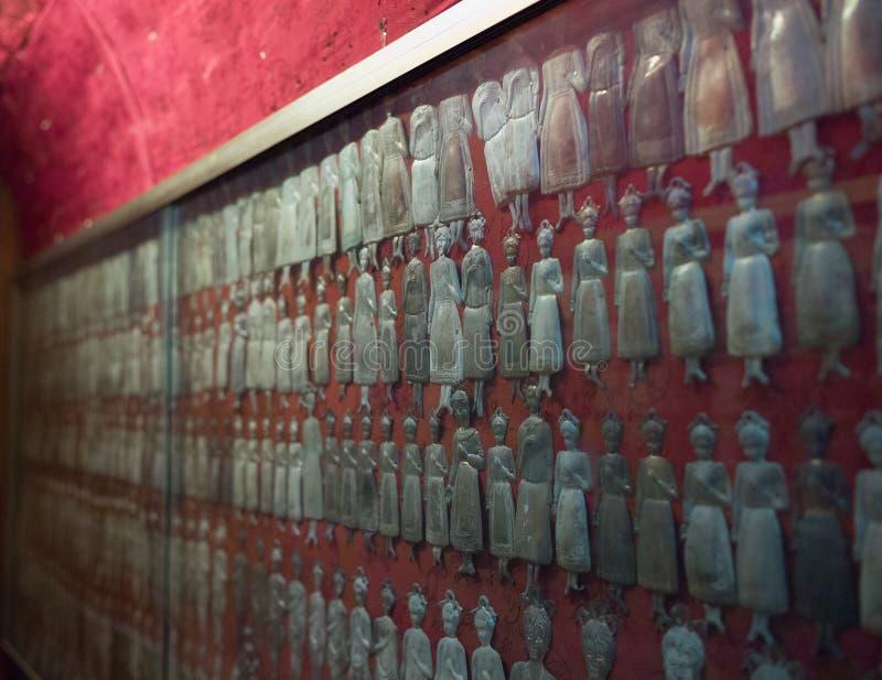 silvervotives, Naples royaltyfria foton