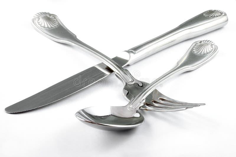 silverware obraz stock