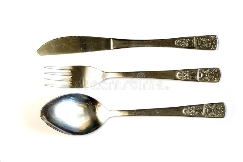 silverware arkivbild