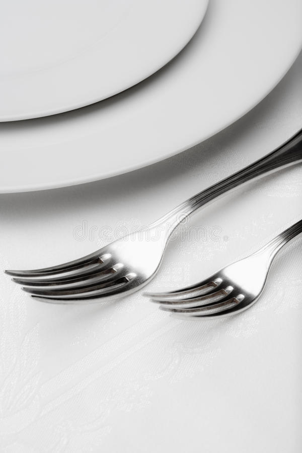 Download Silverware - Closeup Of Forks Stock Photo - Image: 11871828