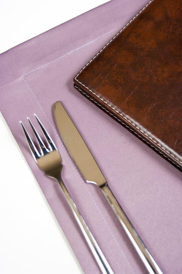 Download Silverware and menu stock photo. Image of utensils, dining - 11641156