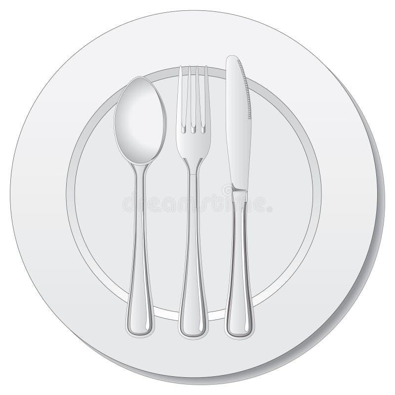 silverware wektor ilustracja wektor