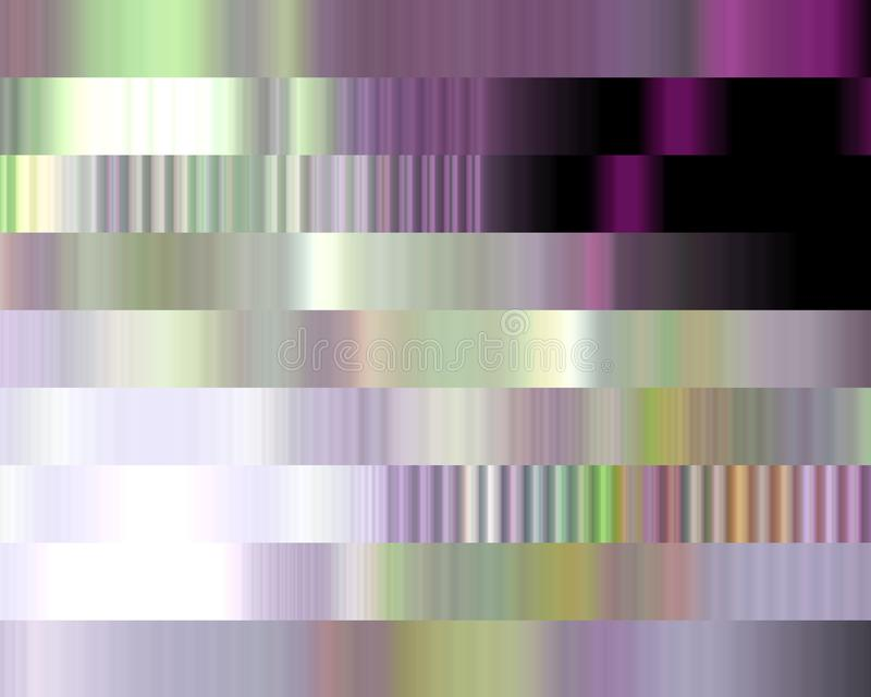 Silver pink violet phosphosphorescent illuminated shapes sparkling geometries abstract texture and background royalty free illustration