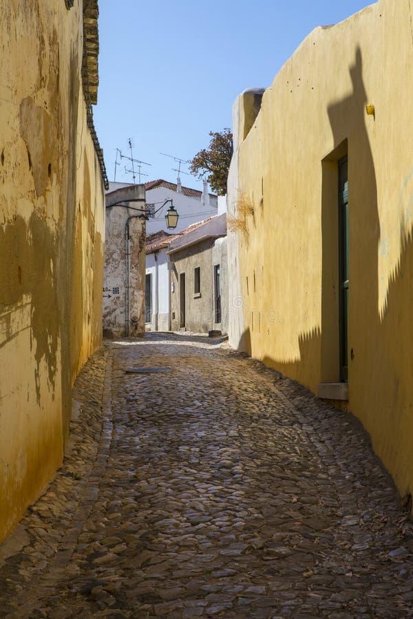 Silves在葡萄牙 库存照片