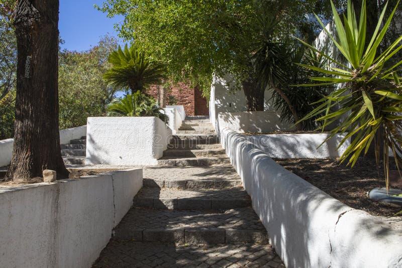 Silves在葡萄牙 免版税库存照片