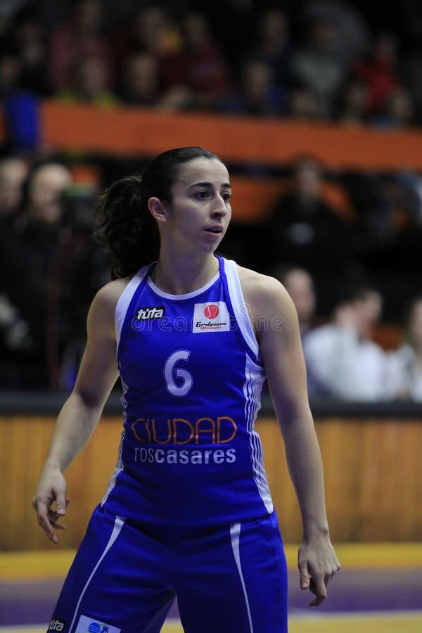 Silvia Domínguez - basquetebol fotos de stock royalty free