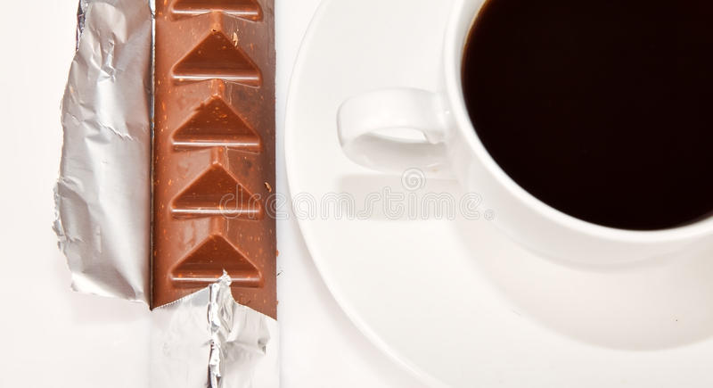 Download Silwer Wrapper Around Chocolate Stock Photo - Image: 25297702