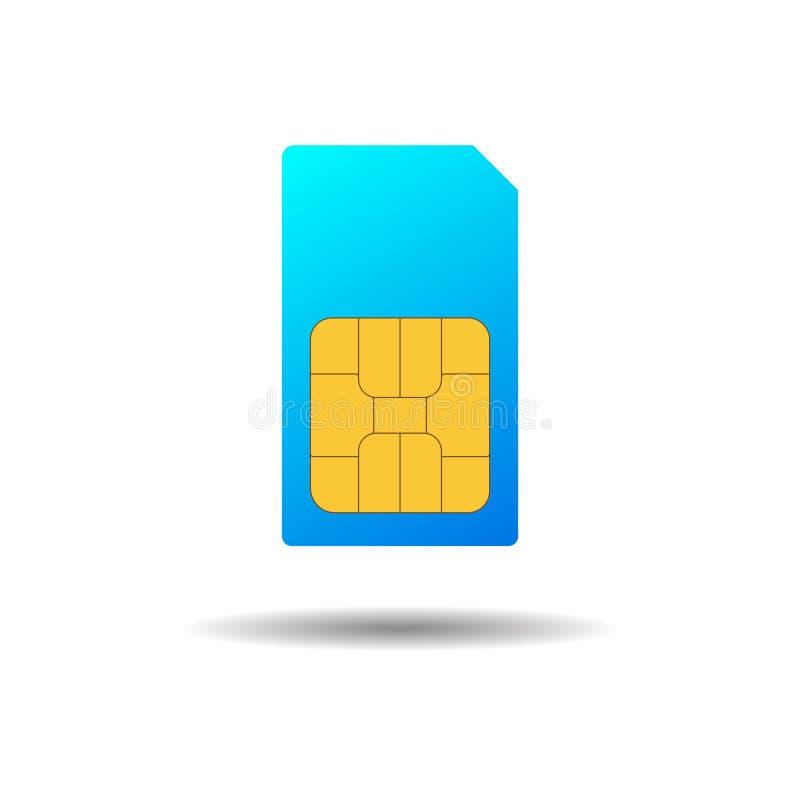 ??sim 流动电信技术标志 t 库存例证