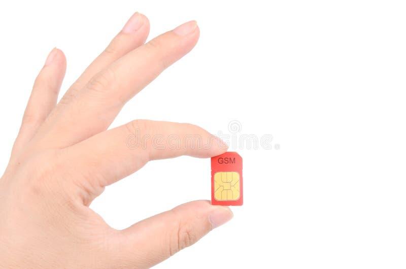 Download Sim card stock image. Image of roaming, prepaid, identifier - 27953903