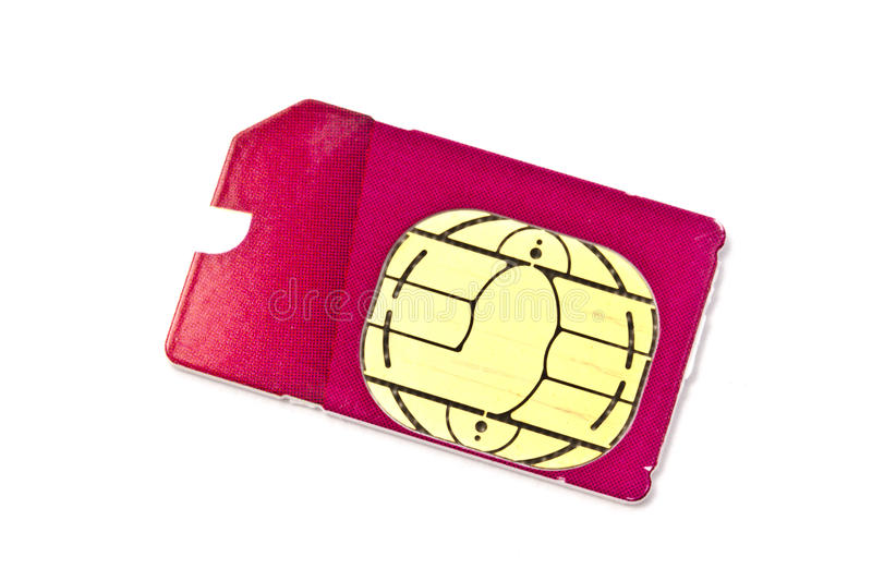 Download Sim Card For Mobile Phone Royalty Free Stock Photography - Image: 21195297