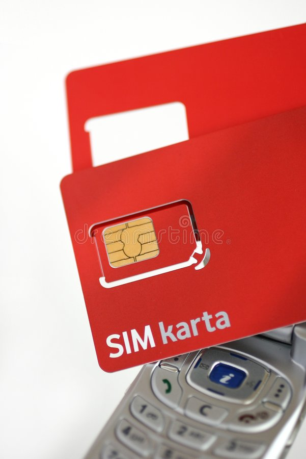 Free Sim Cards 3 Royalty Free Stock Photo - 4307185