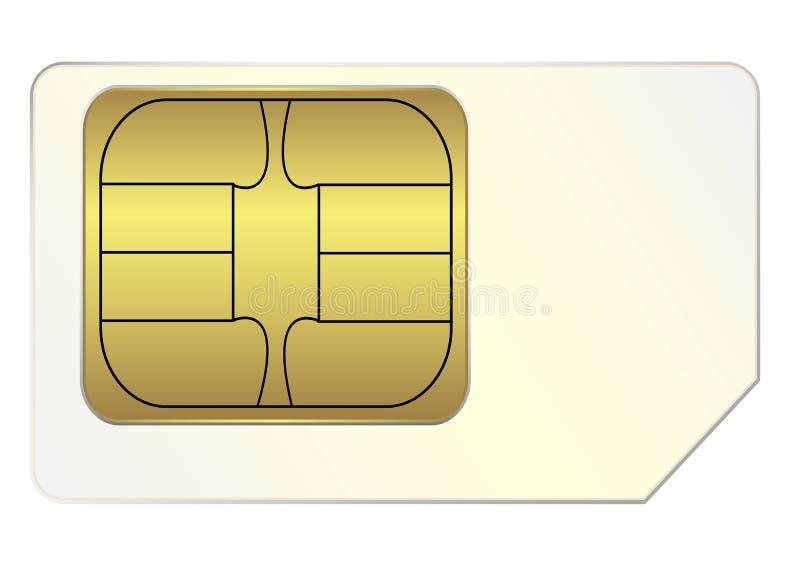 SIM karta obraz royalty free