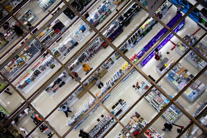 Sim Lim Shopping foto de archivo