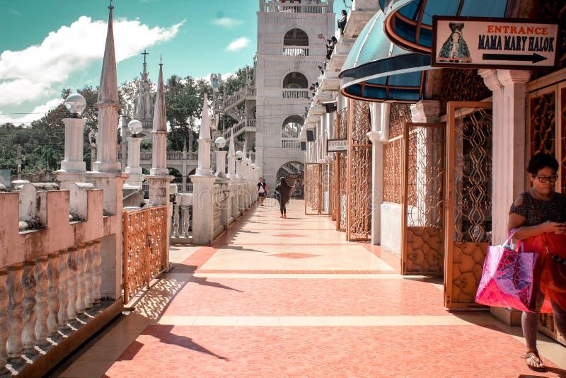 Simala Shrine sibonga cebu city royalty free stock photo