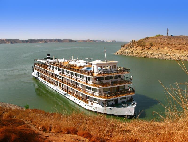 simbel Египета роскошное Нила круиза abu стоковые фото