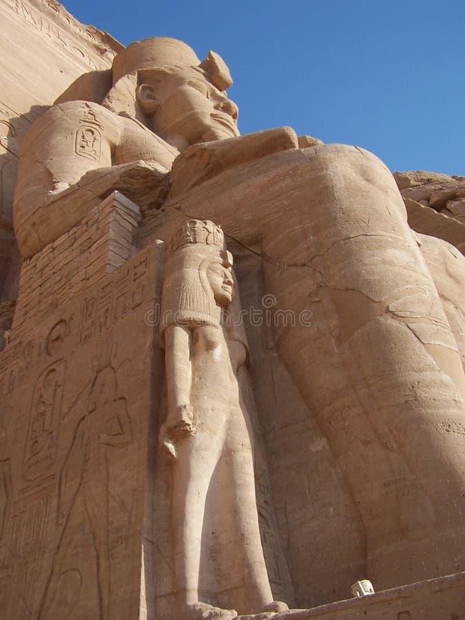 Simbel d'Abu photo libre de droits