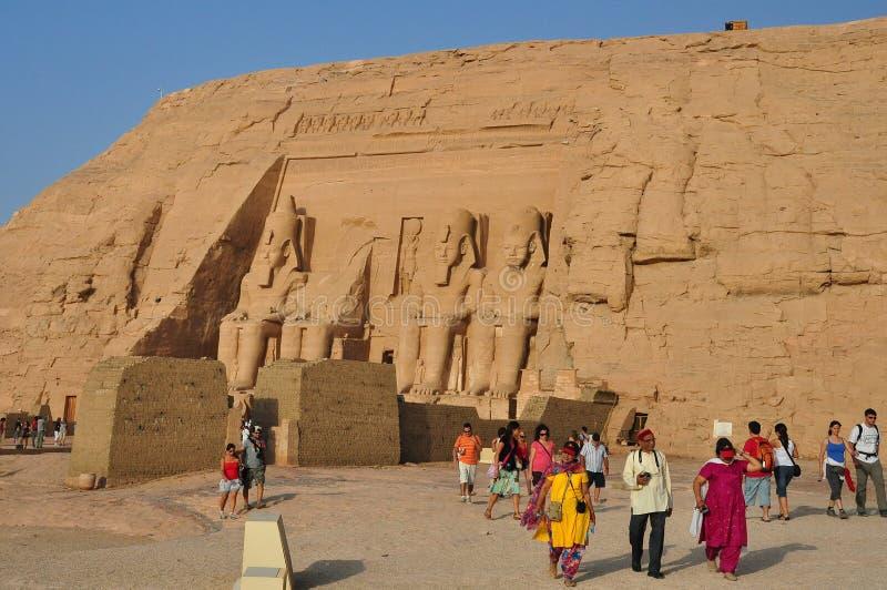 Simbel di abu dell'Egitto fotografia stock libera da diritti