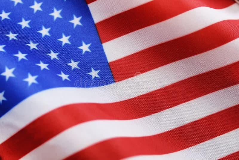 Simbol da eleição na bandeira dos EUA fotos de stock