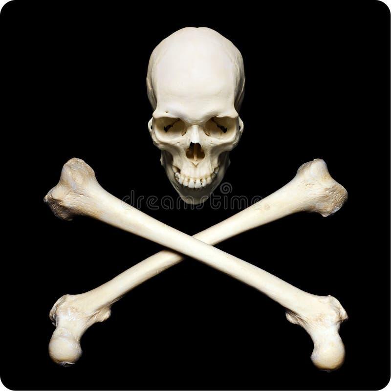 Simbol van de piraat royalty-vrije stock afbeeldingen