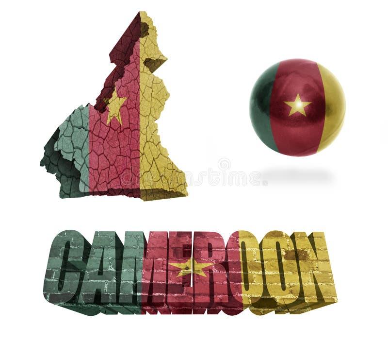 Simboli del Camerun royalty illustrazione gratis