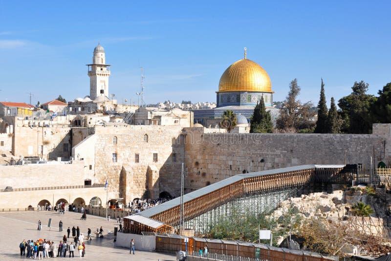 Simboli di Gerusalemme fotografia stock