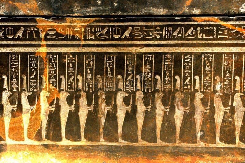Simboli egiziani fotografie stock