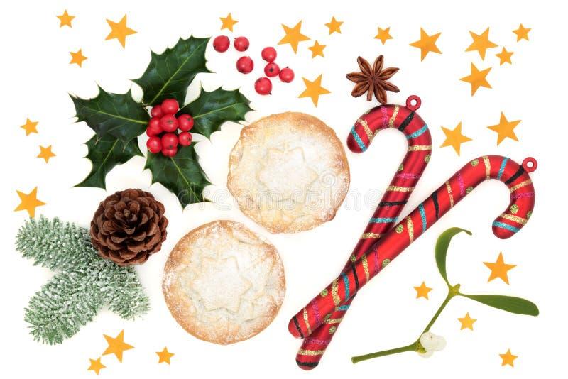 Simboli festivi di Natale immagini stock libere da diritti