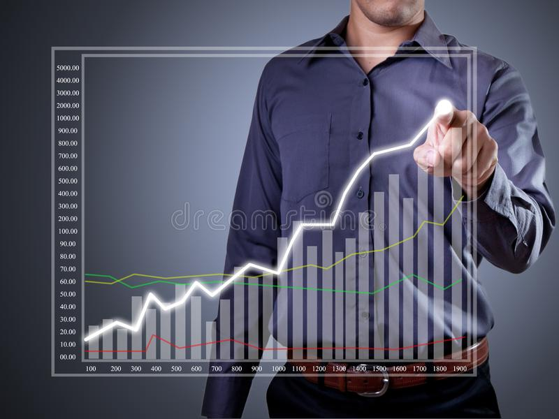 Simboli finanziari fotografie stock libere da diritti