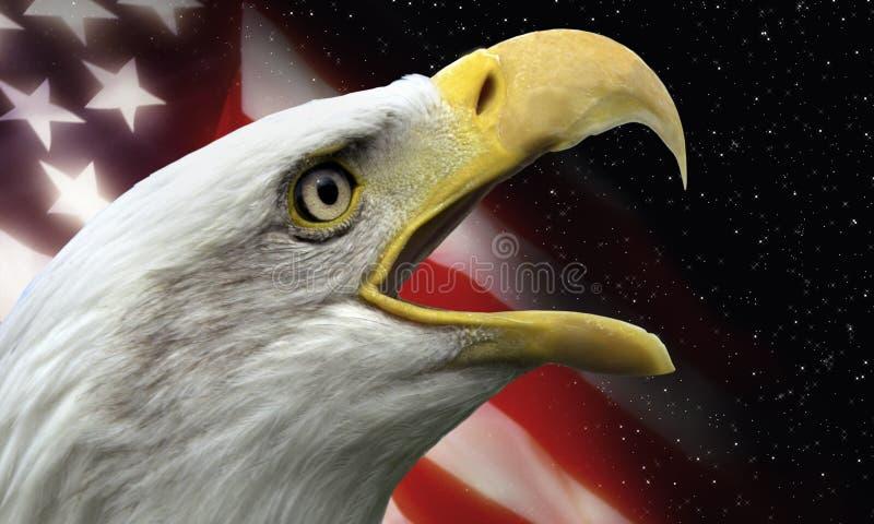 Simboli patriottici degli S.U.A. fotografie stock libere da diritti