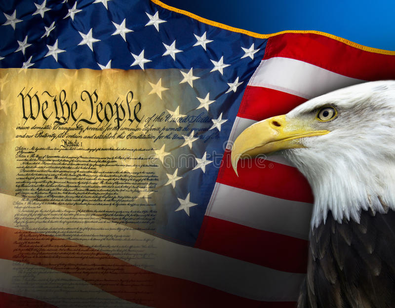 Simboli patriottici - Stati Uniti d'America immagini stock