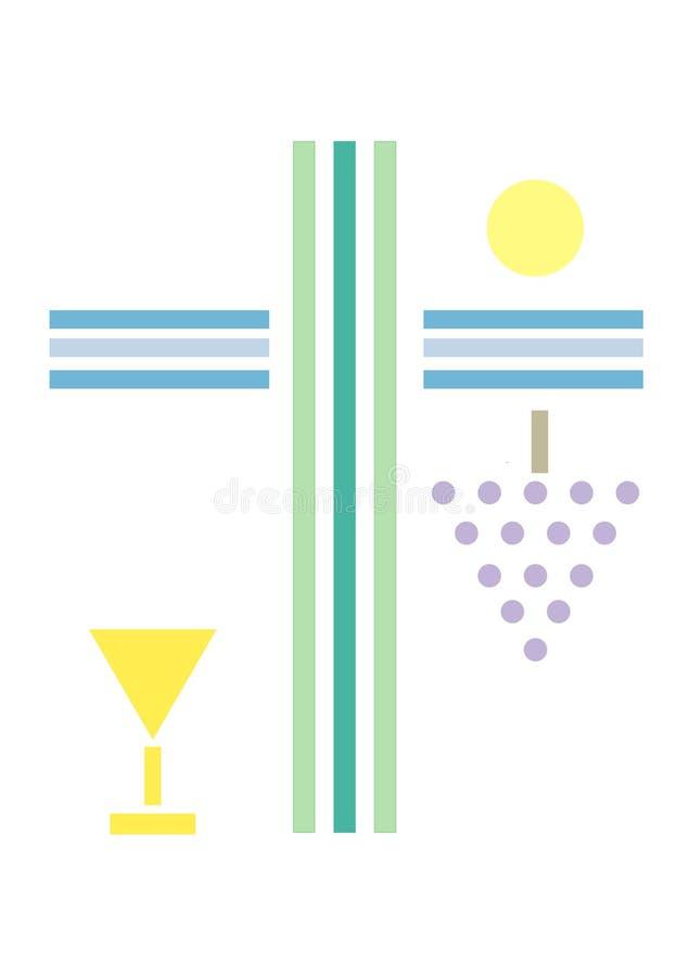 Simboli religiosi royalty illustrazione gratis