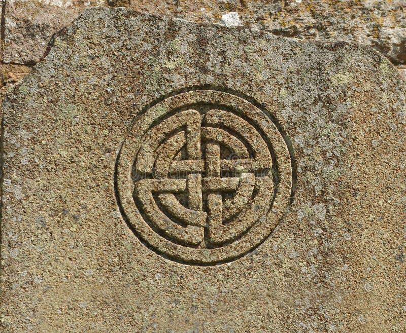 Simbolo celtico fotografia stock