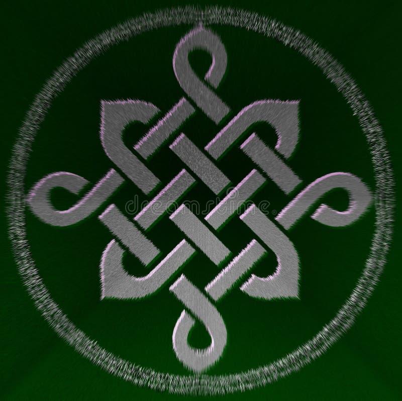 Simbolo celtico del nodo fotografie stock libere da diritti