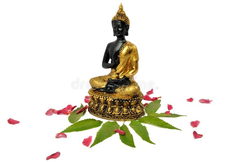 Simbolo del Buddha di pace immagini stock libere da diritti