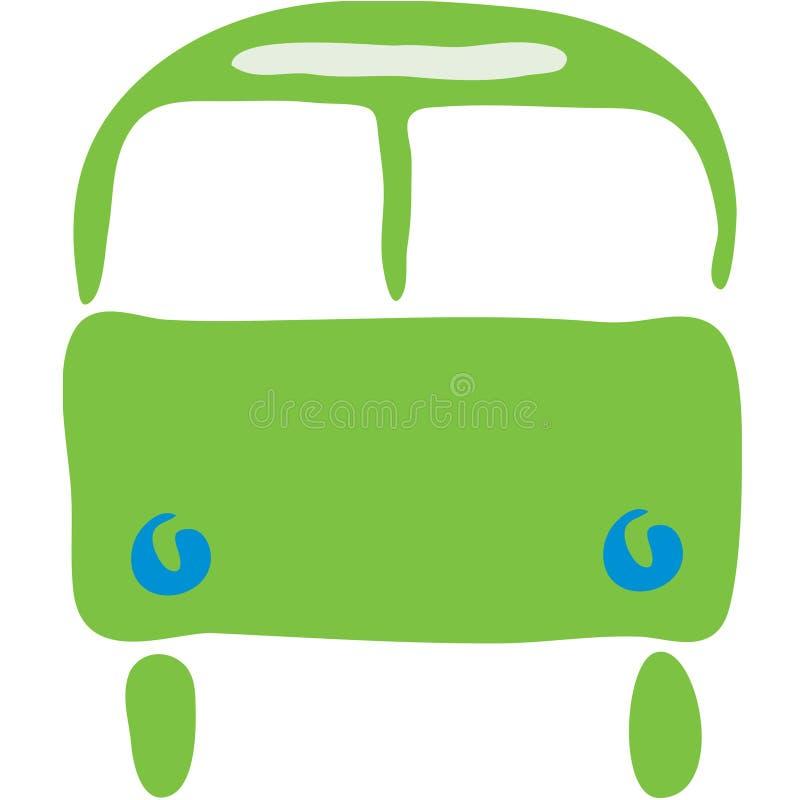 Simbolo del bus illustrazione di stock