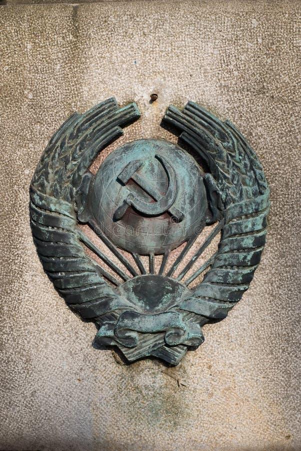 Simbolo del comunism immagini stock libere da diritti