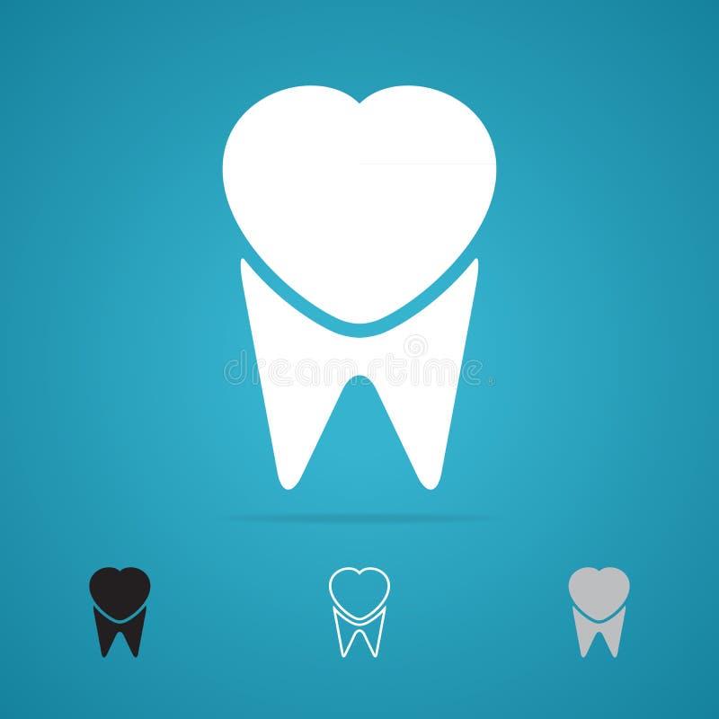 Simbolo del dente royalty illustrazione gratis