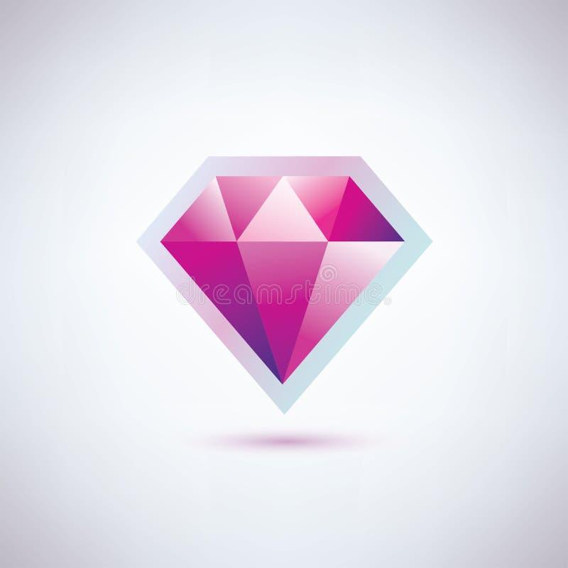 Simbolo del diamante royalty illustrazione gratis