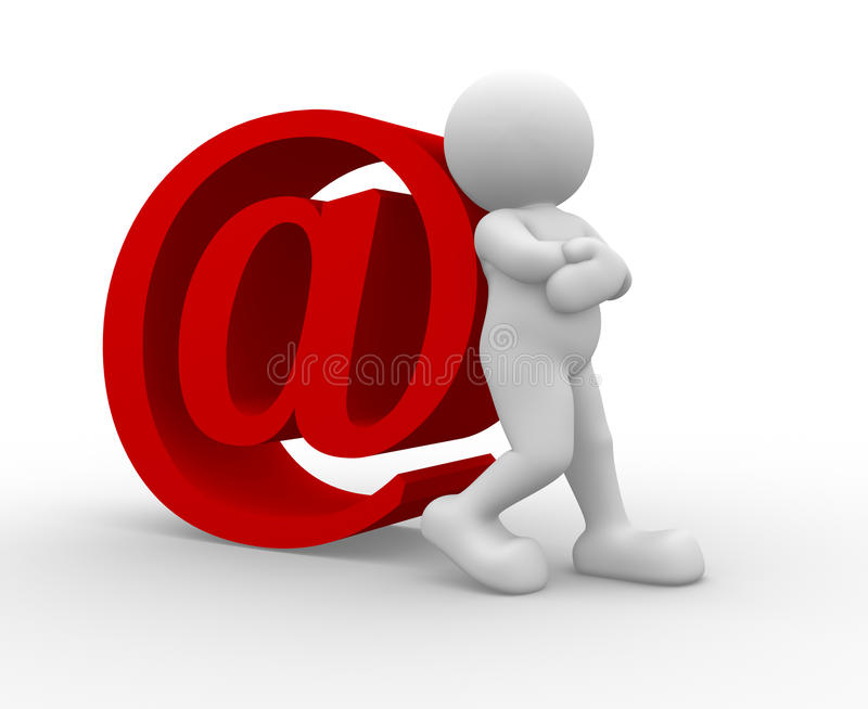 Simbolo del email illustrazione vettoriale