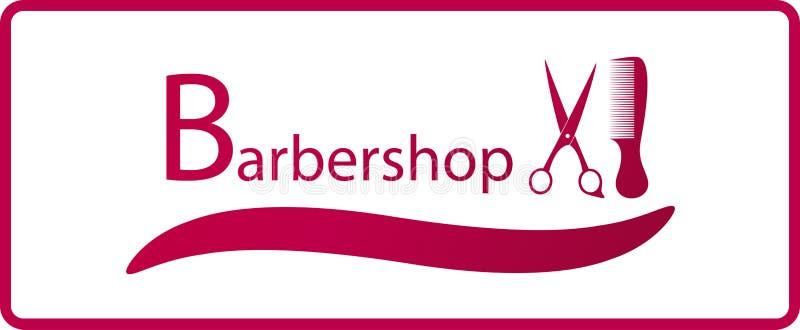 Simbolo del parrucchiere con il pettine e le forbici for Simbolo barbiere