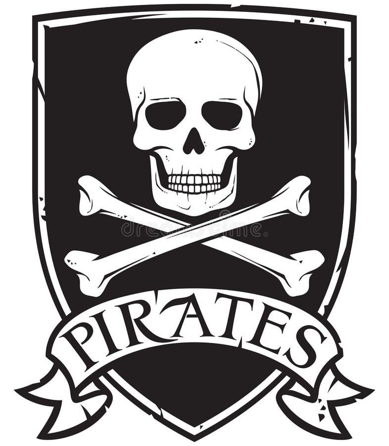 Simbolo del pirata royalty illustrazione gratis