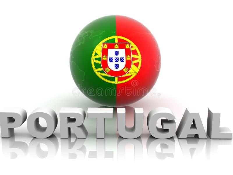 Simbolo del Portogallo royalty illustrazione gratis